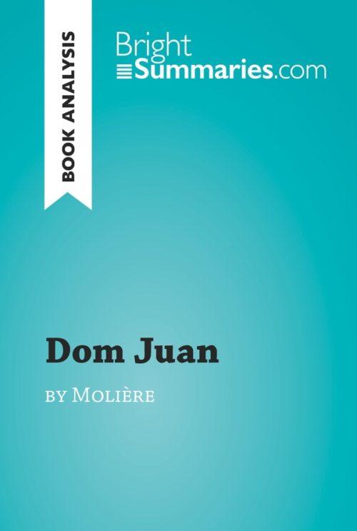 Dom Juan by Molière (Book Analysis)